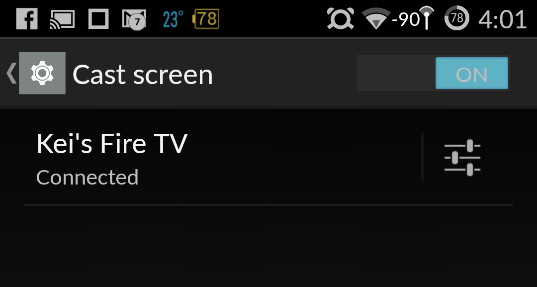 How to mirror your phone or tablet screen to Fire TV ...