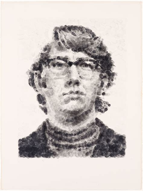 keithrandom fingerprint artistmakerchuck close born