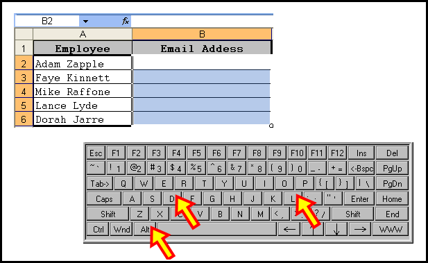 Forcing Data Entry to Include a Specified Character