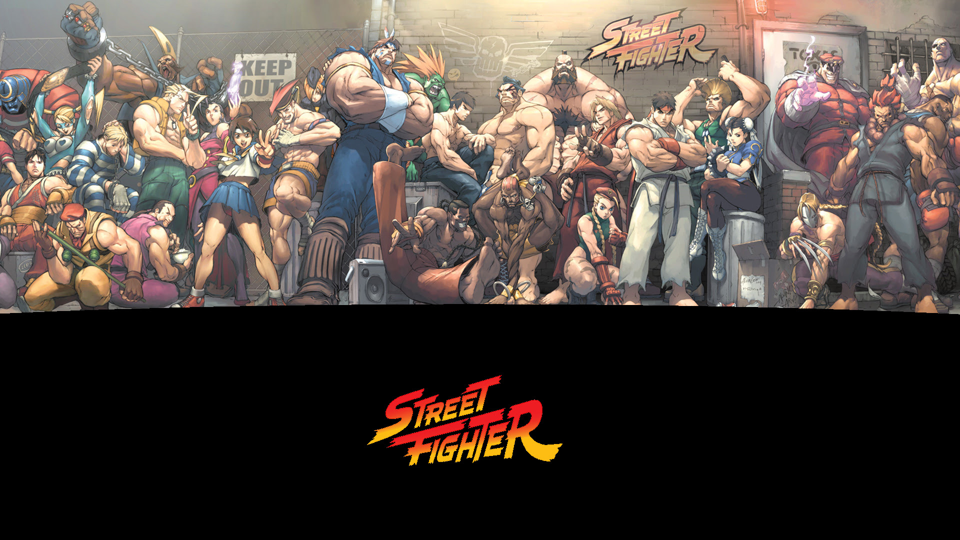 Street Fighter S Wallpaper 1920x1080 66712