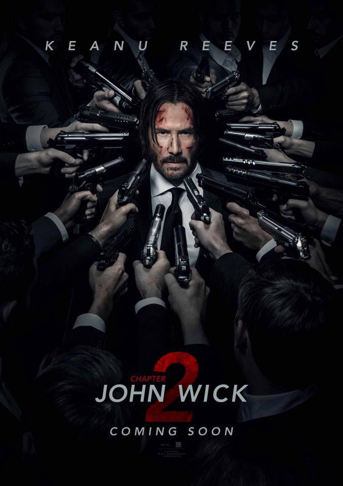 Risultati immagini per john wick 2 poster