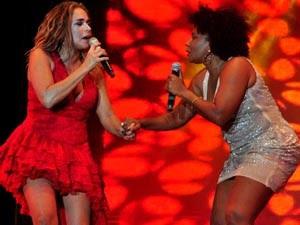 Daniela e Margareth Pôr do Som Bahia (Foto: Jefferson Peixoto/Agência Haack)