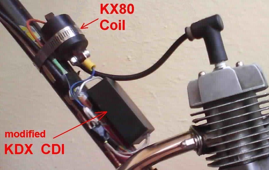 Motored Bicycle Hacks Modified Kdx Cdi