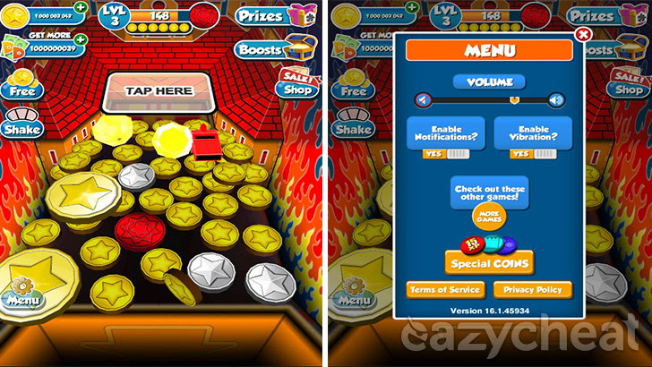 Coin Dozer - Free Prizes v16 1 Cheat - Easiest way to cheat