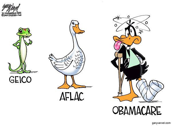Image result for obamacare cartoons and jokes
