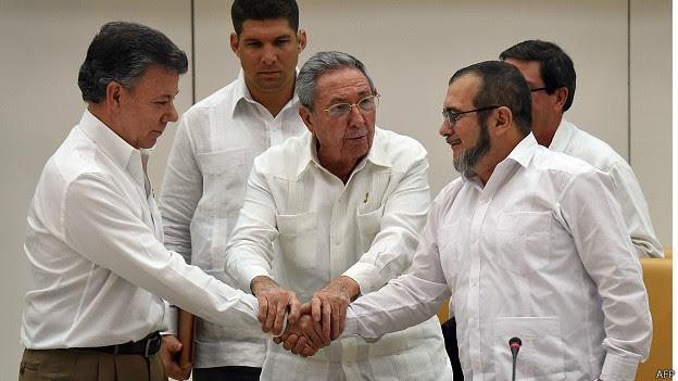 Imagini pentru acuerdo de paz farc