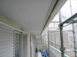 外壁塗装 軒天 付帯塗装