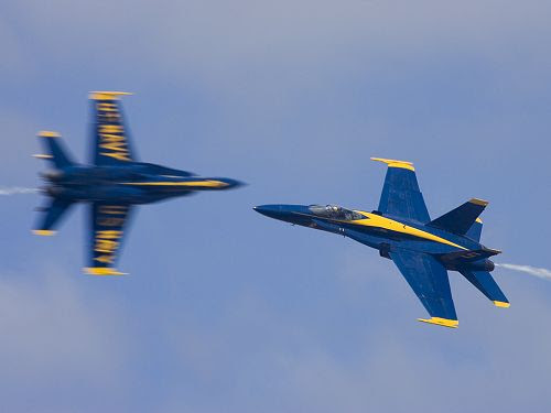 Blue Angels over Rhode Island