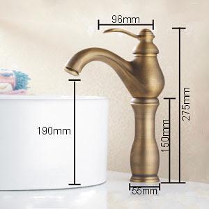 Antique Brass Single Handle Centerset Bathroom Sink Faucet1039 Ma1118