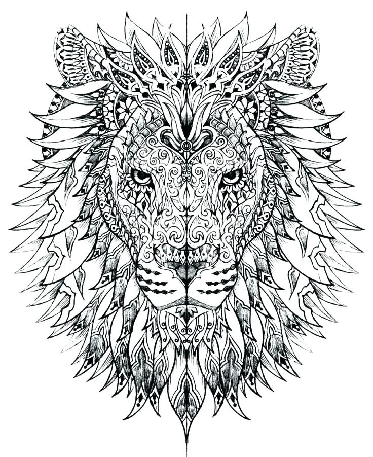 Free Printable Coloring Pages For Adults Advanced at ...