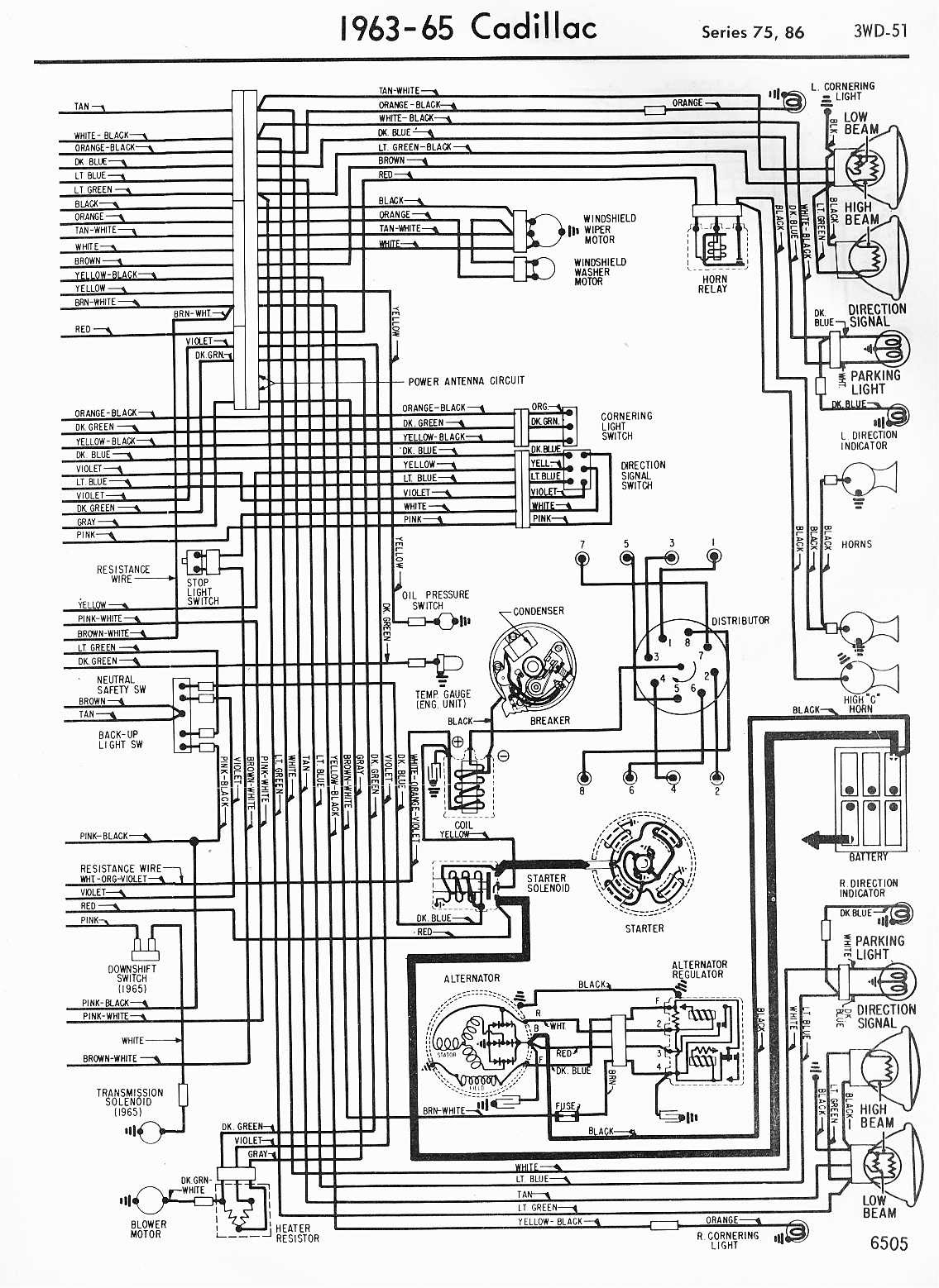 Ca3119 68 Cadillac Distributor Wiring Diagrams Wiring Resources