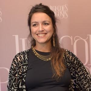 A autora Manuela Dias