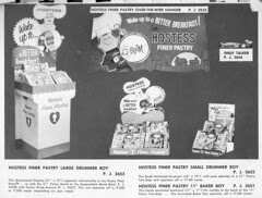 Hostess Cakes display catalog page