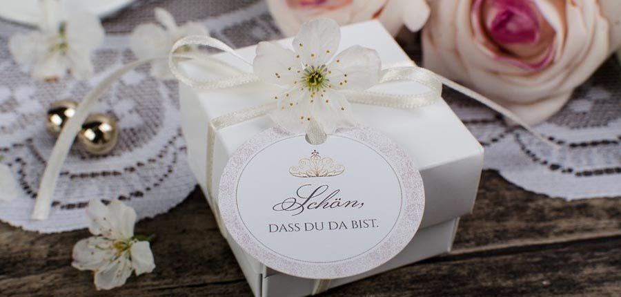 Kleine Gastgeschenke Hochzeit / Janasbastelecke Kleine