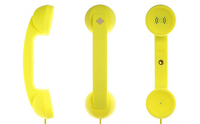Native Union Pop Phone Neon Yellow