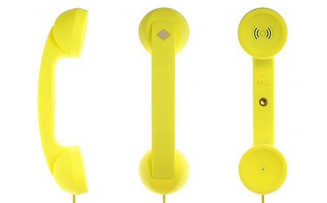Native Union Pop Phone Neon Yellow