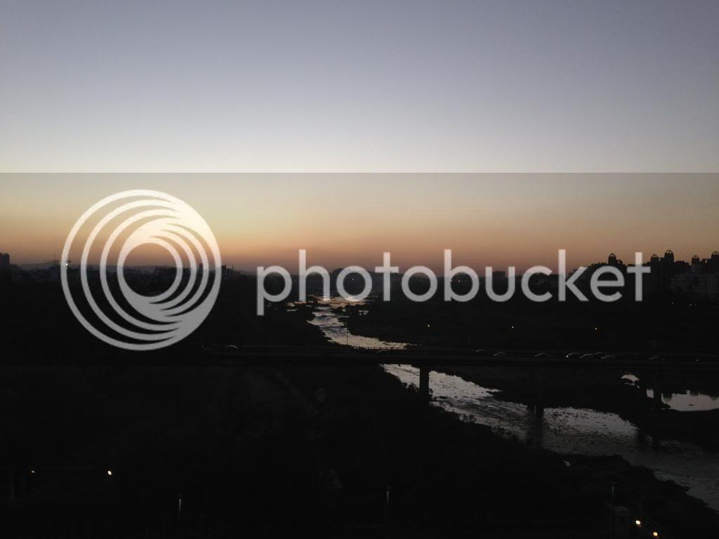 Beautiful Sunset Westin Hotel Pune India
