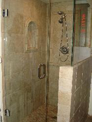 Master Bath W/pony wall shower Pictures and Photos