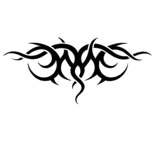 Tumblr Tribal Upper Back Tattoo Designs 2015