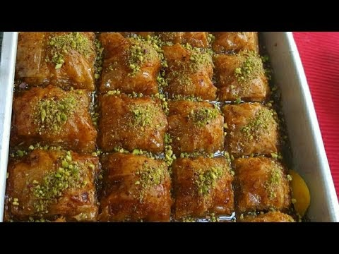 Μπακλαβαδάκια με Ανατολίτικη γεύση (Βίντεο)
