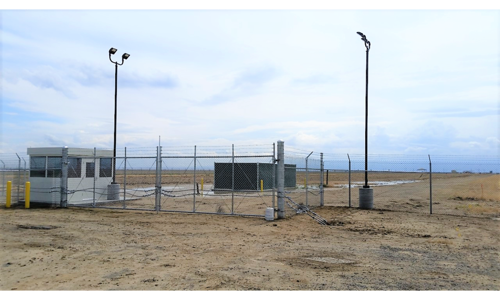Base Access Gate At Ops Fuel Farm Area Jacob Construction And Design