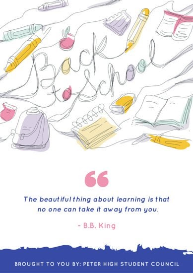 Contoh Poster Pendidikan Simple Dan Menarik - Contoh Poster Ku