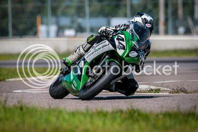 2012 Kawasaki Ninja 650 Race Track Bike Mnsbr