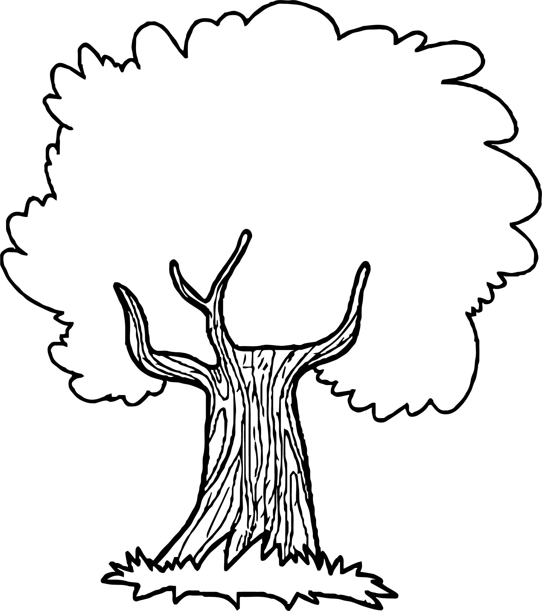 Thoughtful Apple Tree Coloring Page Wecoloringpage Com Coloring Pages