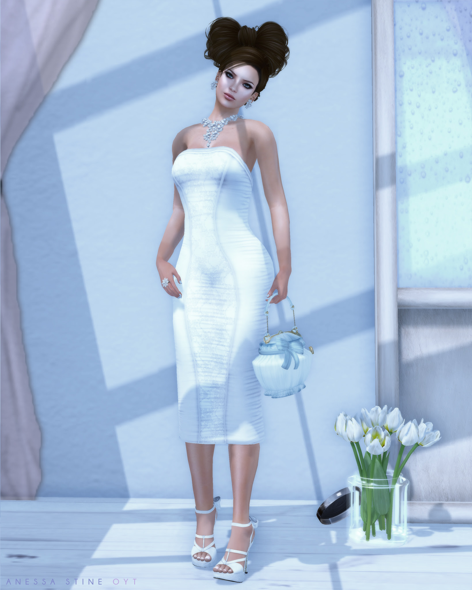 On Your Toes Blog: Girls in White Dresses