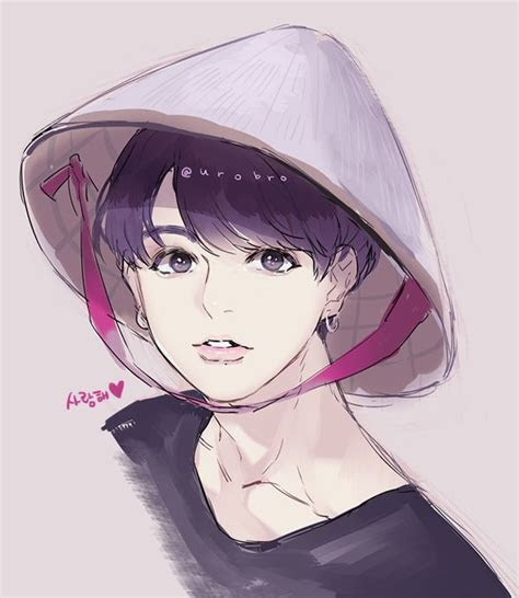 jungkook oppa jungkook fanart fan art bts drawings