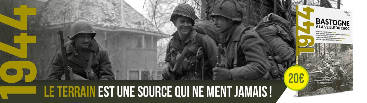 1944 - N°01/19 - Mook - Bastogne à la veille du choc