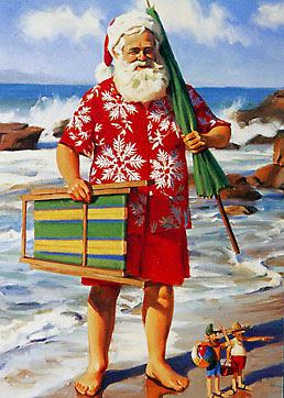 NZ Folk Song * It's Christmas in New Zealand