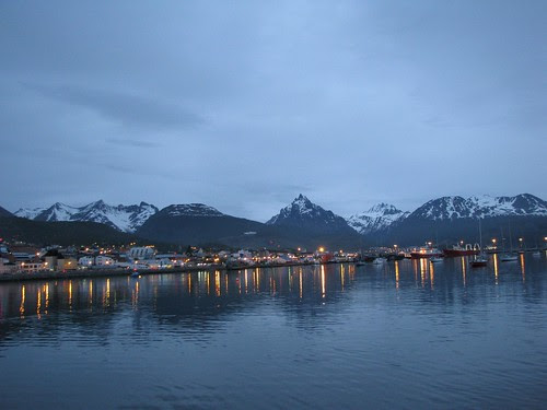 Ushuaia at night