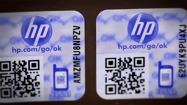 Selo de qualidade de cartuchos HP (Foto: Reprodução / HP)