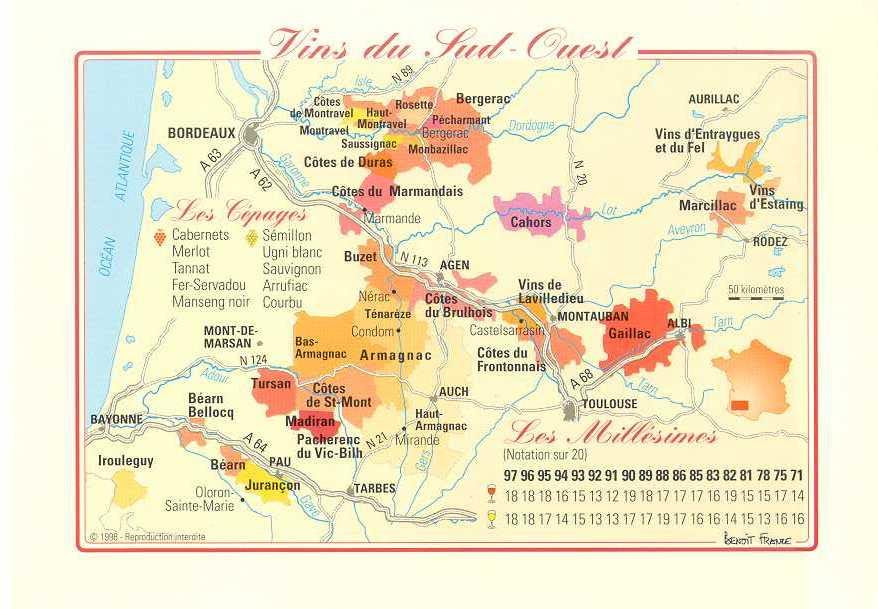 Ballade Viticole Bergerac Cahors