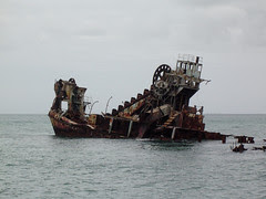 wreck from ferry 1