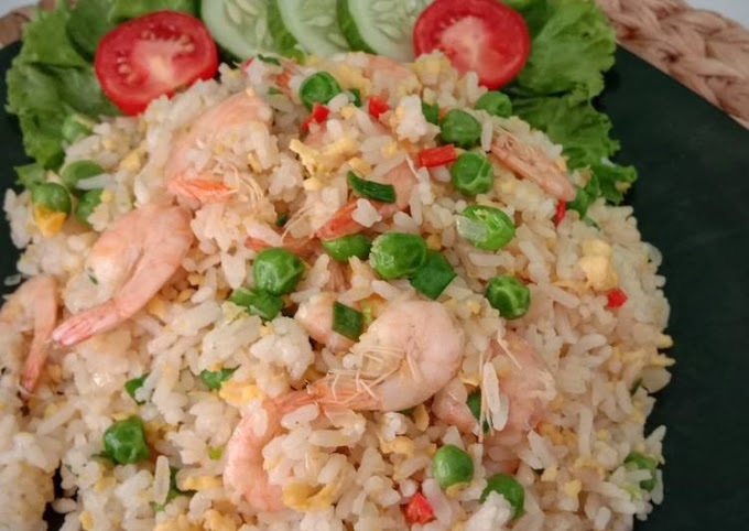 Cara Praktis Membuat Nasi Goreng Hongkong ala Resto Lezat