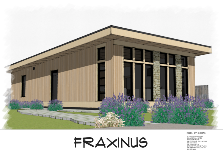 No 31 Fraxinus Modern Shed Roof Style House Plan Free Download