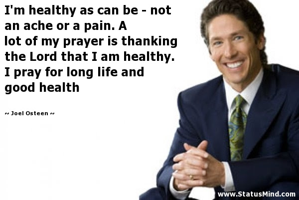 Joel Osteen Quotes At Statusmindcom