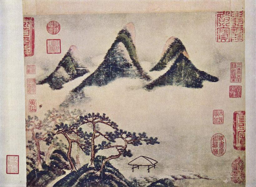 Mi Fei. Montañas y pinos en la primavera, ca. 1100. Ecoarte