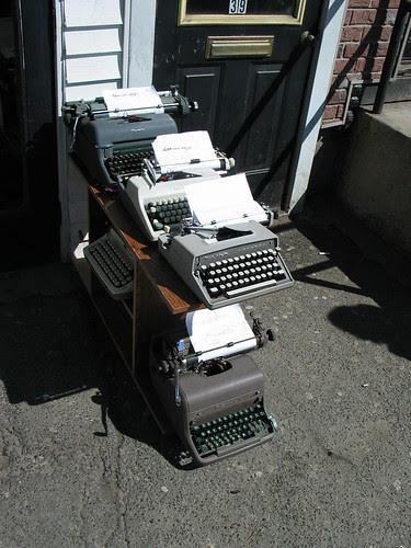 Street typewriters 2
