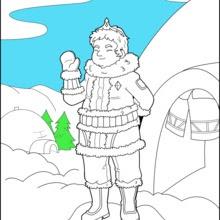 Dibujos Para Colorear Príncipe De Hielo Eshellokidscom