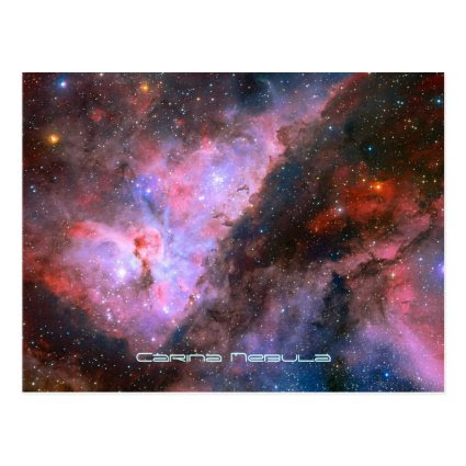 Carina Nebula - Our Breathtaking Universe Post Cards