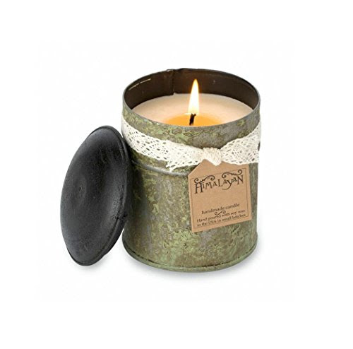 Himalayan Candles Spice Tin 10-Ounce Soy Candle, Small ...