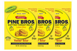 Enter the Pine Bros. Softish Throat Drops Giveaway. Ends 1/13.