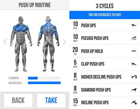 increased  pushups workout