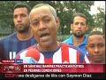 Futbolistas de Sánchez Ramírez exigen apoyo para practicar este deporte.