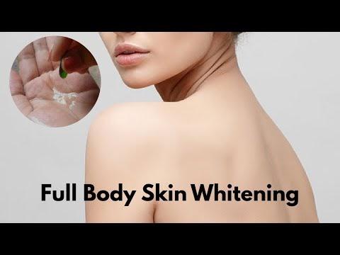 Full body whitening challenge in JUST 7 days skin whitening treatment