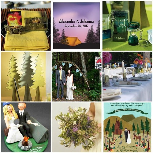 Camping Wedding Ideas: Camping Wedding For Nature Lovers And The Eco-Conscious