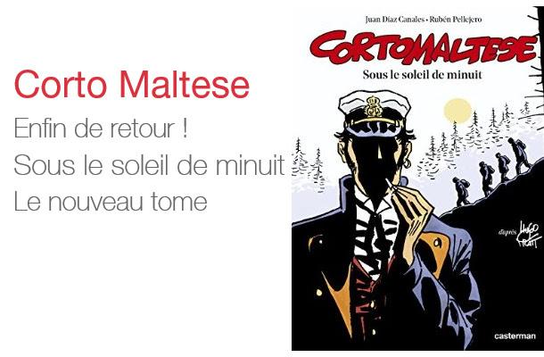 La nouvelle BD Corto Maltese
